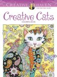 Book Cover Image. Title: Creative Haven Creative Cats Coloring Book, Author: Marjorie Sarnat