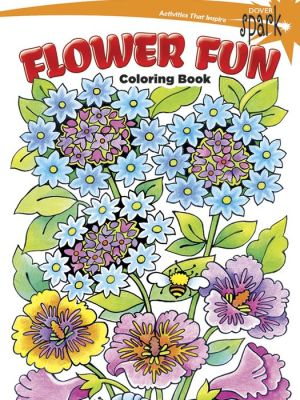 SPARK -- Flower Fun Coloring Book