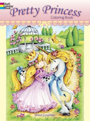 Pretty Princess Coloring Book