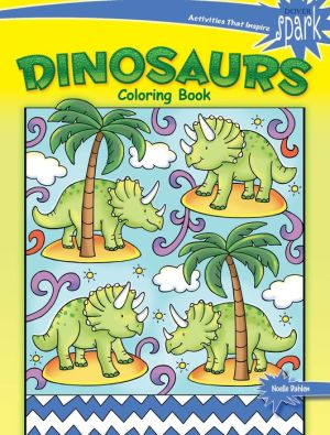 SPARK Dinosaurs Coloring Book