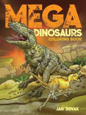Book Mega Dinosaurs Coloring Book