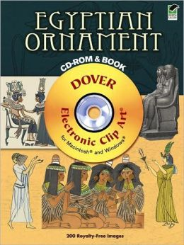 Egyptian Ornament CD-ROM and Book