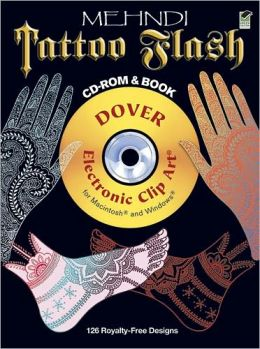 Mehndi Tattoo Flash CD-ROM and Book