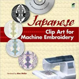 Japanese Clip Art for Machine Embroidery