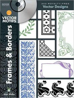 Frames and Borders Vector Motifs