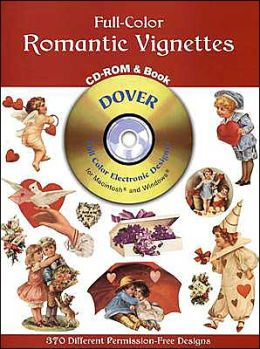 Full-Color Romantic Vignettes (Full-Color Electronic Design Series)