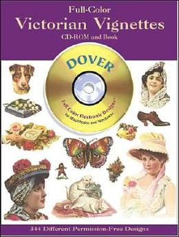 Full-Color Victorian Vignettes CD-ROM and Book