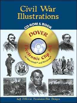 Civil War Illustrations CD-ROM and Book