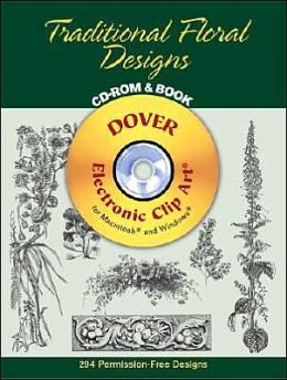Traditional Floral Designs CD-ROM and Book