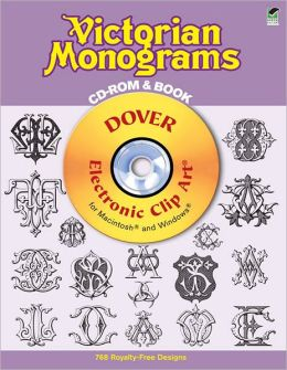 Victorian Monograms CD-ROM and Book