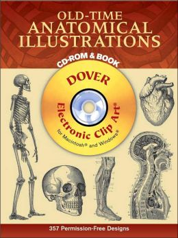 Old-Time Anatomical Illustrations (Dover Electronic Clip Art Series)