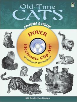 Old-Time Cats (Dover Electronic Clip Art Series)