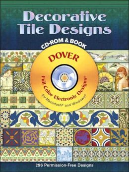 Decorative Tile Designs with CD-ROM