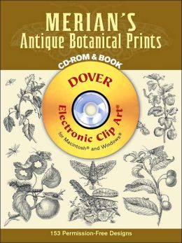 Merian's Antique Botanical Prints (Dover Electronic Clip Art Series)
