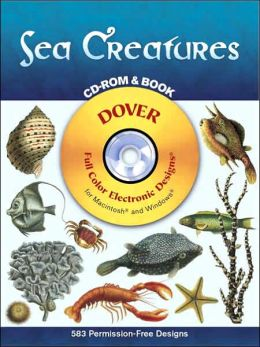 Sea Creatures with CD-ROM