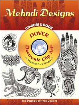 Mehndi Designs CD-ROM and Book