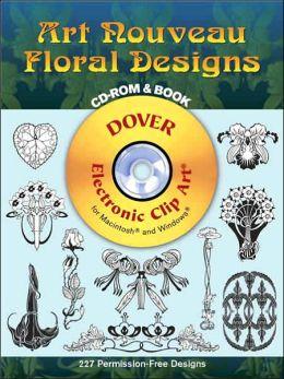 Art Nouveau Floral Designs