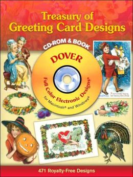 Treasury of Greeting Card Designs CD-ROM and Book