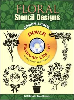Japanese Stencil Designs CD-ROM and Book (Dover Electronic Clip Art) Dover