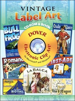 Vintage Label Art [Dover Electronic Clip Art Series]
