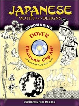 Japanese Motifs and Designs CD-ROM and Book [Dover Electronic Clip Art Series]