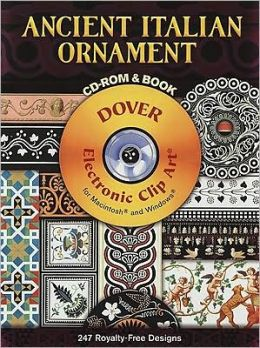 Ancient Italian Ornament CD-ROM and Book