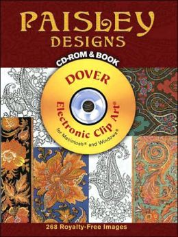 Paisley Designs: CD-ROM and Book