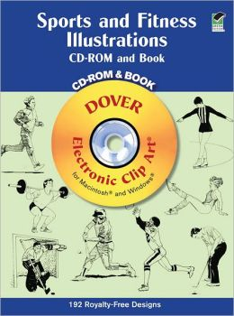 Sports and Fitness Illustrations CD-ROM and Book
