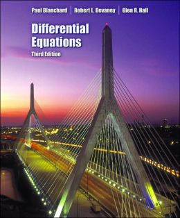 Differential Equations (with CD-ROM)