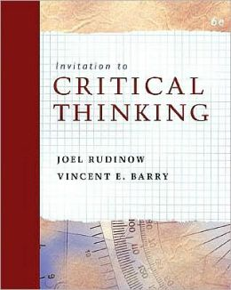 Invitation to Critical Thinking