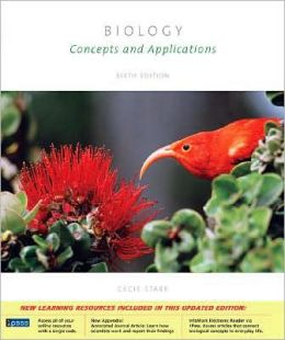 Biology: Concepts and Applications (with CD-ROM and BiologyNOW?, InfoTrac