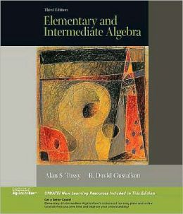 Elementary and Intermediate Algebra, Updated Media Edition (with CD-ROM)