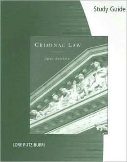 Study Guide for Samaha's Criminal Law, 9th