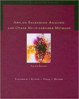 Applied Regression Analysis and Multivariable Methods