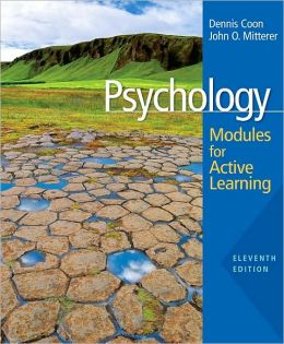 Psychology: Modules for Active Learning, 11th Edition