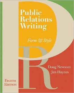 Public Relations Writing: Form & Style (with Errata Sheet)