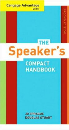 Cengage Advantage Books: The Speaker's Compact Handbook, Revised