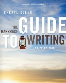 The Harbrace Guide to Writing, Brief, 2009 MLA Update Edition