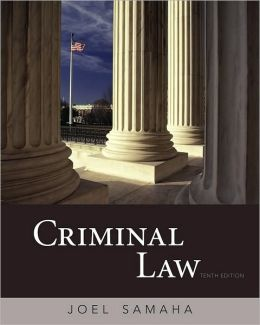 Criminal Law, 10th Edition