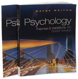 Psychology: Themes and Variations, Brief, 8th Edition