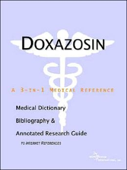 Doxazosin - a Medical Dictionary, Bibliography, and Annotated Research Guide to Internet References