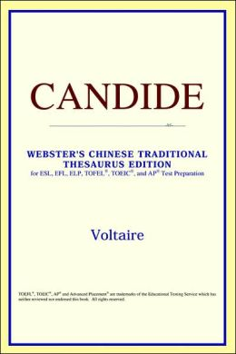 Candide: Webster's Chinese-Traditional Thesaurus Edition