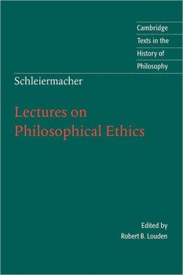 a review of fredrich schleiermachers speeches on religion to its cultured despisers