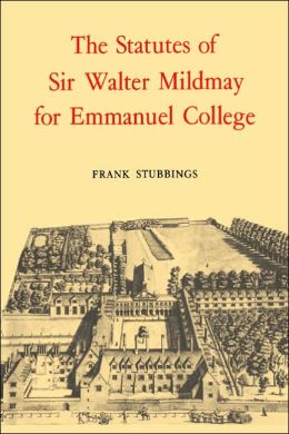 The Statutes of Sir Walter Mildmay