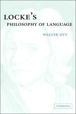 Locke's Philosophy of Language