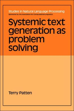 Systemic Text Generation as Problem Solving