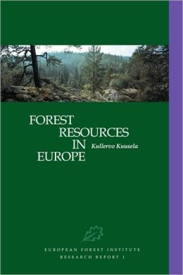 Forest Resources in Europe 1950-1990