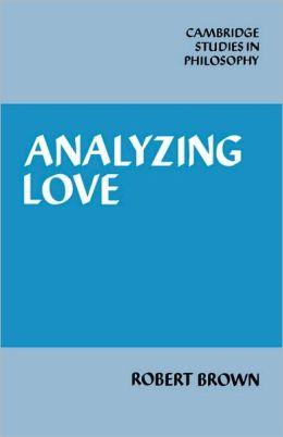 Analyzing Love