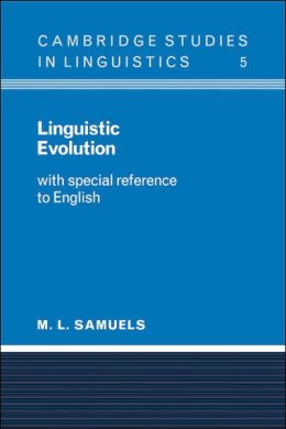 Linguistic Evolution: With Special Reference to English