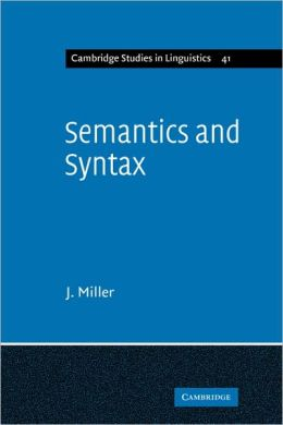Semantics and Syntax: Parallels and Connections